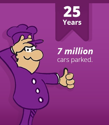 25 years - 7 million cars parked