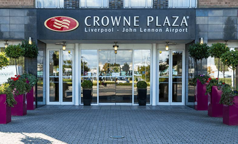 Crowne Plaza hotel at Liverpool Airport