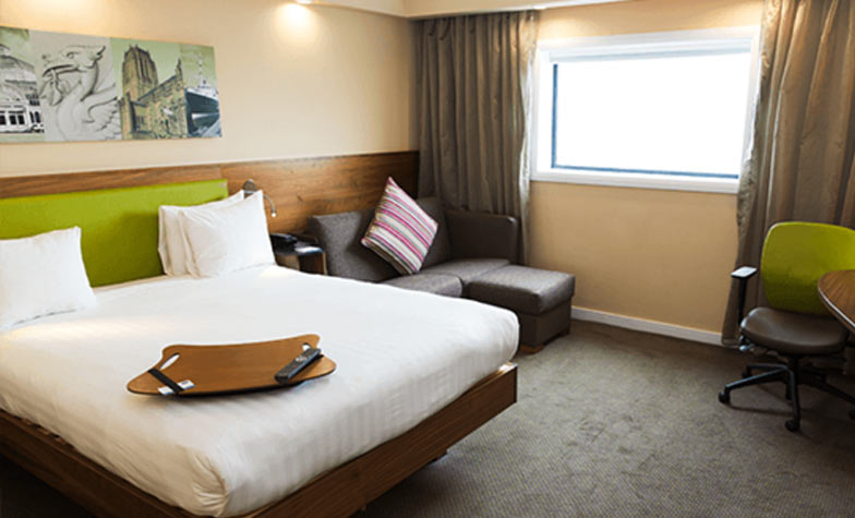 Hampton by Hilton hotel at Liverpool Airport